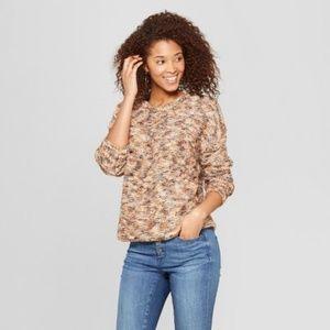 Universal Thread Subtle Shine Pullover Sweater